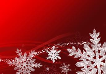 Sfondo Fiocchi di neve