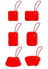 etichette rosso