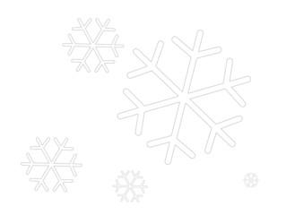 schneeflocken, weihnachten