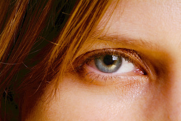open eye
