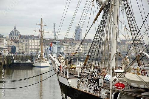 Nantes : quai de la Fosse - 5274314