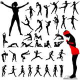 Fitness Women Calisthenics Aerobics Dance poster