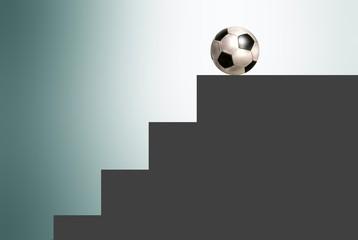 scala con pallone