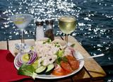Fototapety Fine Dining on The Water