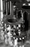 gears mechanism in dark toning poster