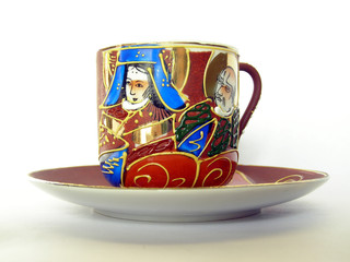 Chinese pottery China coffee cup