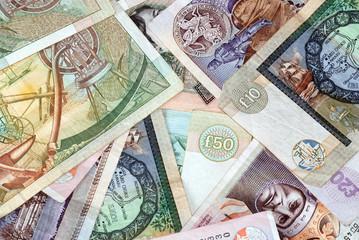 Various Scottish Bank Notes