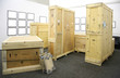 Leinwanddruck Bild - Wooden boxes