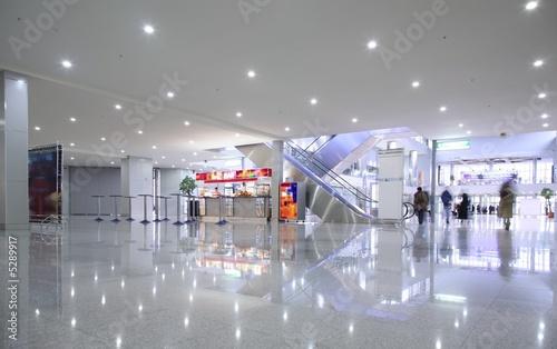 Interior in business center - 5289917