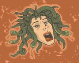Head of Medusa poster