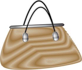 sac à main beige