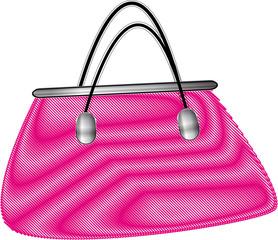 sac à main rose
