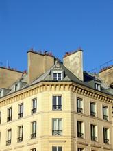 Sąsiedztwo fasada w Paryżu