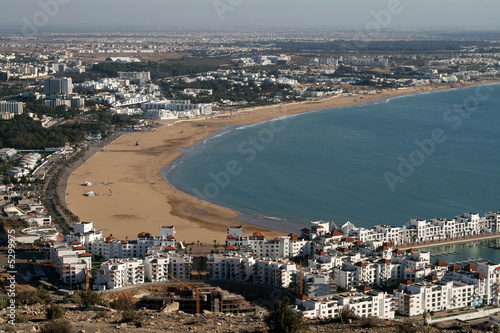 Die Bucht von Agadir in