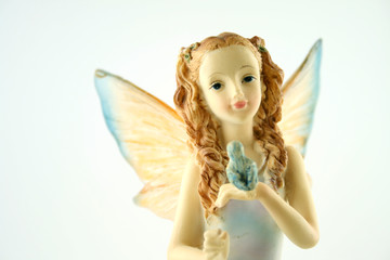 Blue Fairy Girl