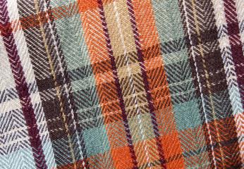 fall plaid tablecloth