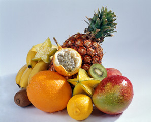 the tropical fruits collection...