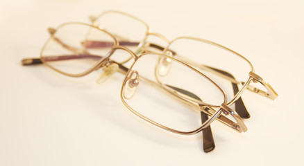 Metallic glasses - close up