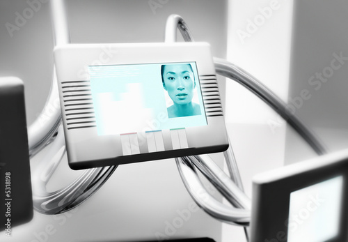Videoconferencing Screen