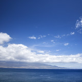 Pacific ocean  island. poster