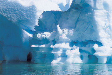 Iceberg, close up