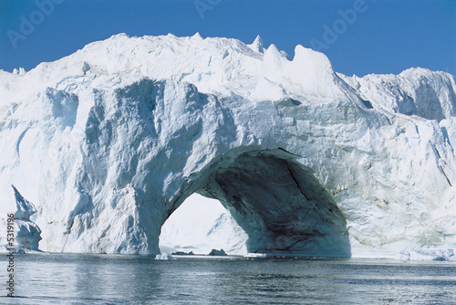 Archway made of Ice