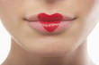 Lips Wearing Lipstick Heart