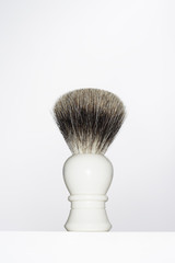 Shaving Brush, close up in studio