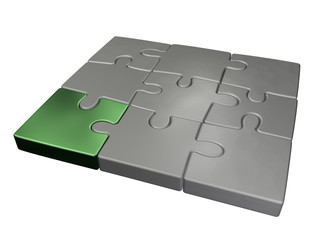 small jigsaw puzzle