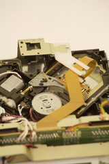 Inside of CD Drive