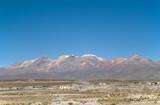 Volcano at Peru poster