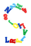 You can write messages with this letters series! You can find al poster