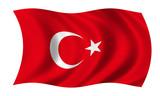 türkei fahne turkey flag poster