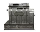 Old cash register poster