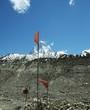 Leinwanddruck Bild Shivling peak in Himalayan