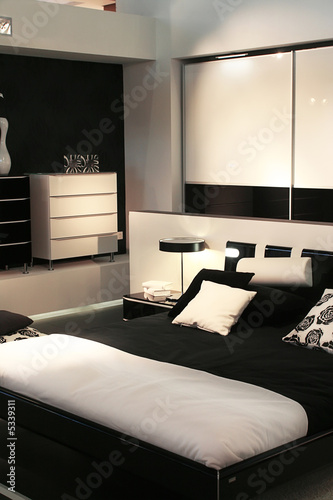design of modern sleeping room