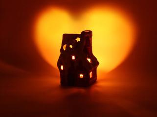 tiny house and shining heart