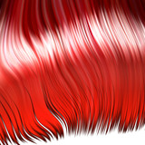 Wild red wig poster
