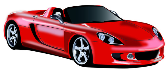 voiture rouge 2