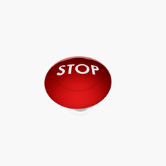 red stop buton