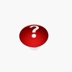 red interrogation buton