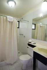 tile bathroom in native hotel managua nicaragua central america