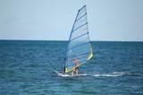 Windsurfing on the Atlantic poster
