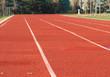 Deserted running track