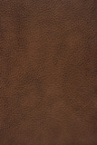 Brown leather texture background poster