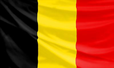 flag of the kingdom of belgium