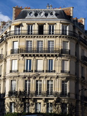 Immeuble ancien, Paris,  France