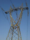 High Voltage Pylon poster
