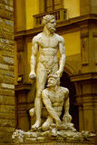 Hercules and Cacus - Florence poster