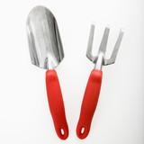 Spade and garden fork. poster
